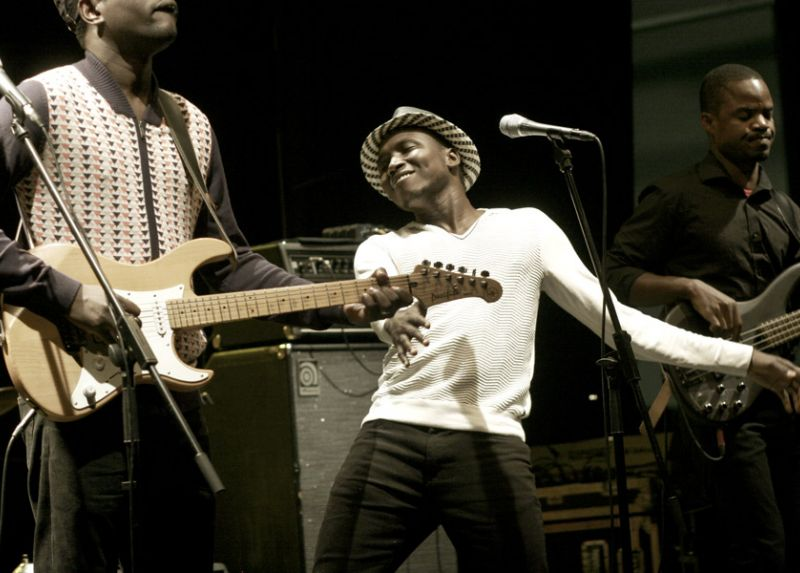 Songhoy Blues per CreativAfrica2015