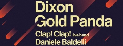 Astro - Nuovi nomi: Dixon, Daniele Baldelli, Dukwa, Abstract - SI aggiungono a: Moderat, Gold Panda, Clap! Clap! Lory D!