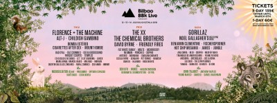 Bilbao BBK Live completa la lineup del 2018 con Florence + The Machine, Childish Gambino, Mount Kimbie, Friendly Fires e molti altri.