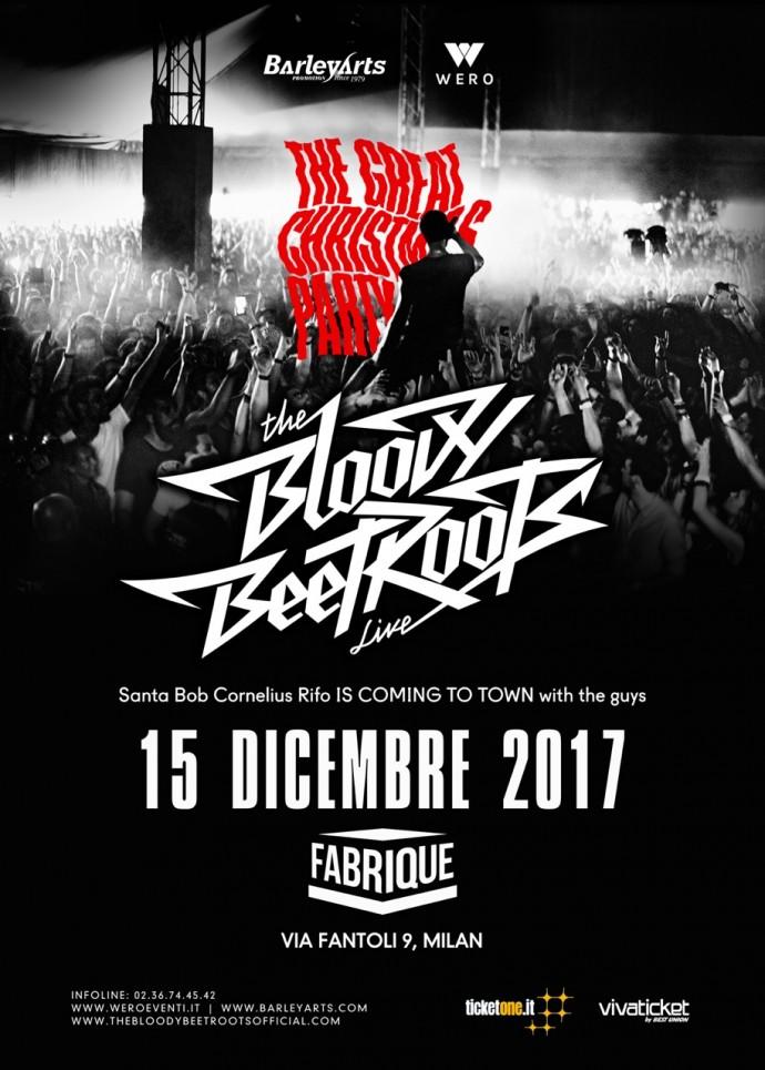Barley Arts: Weekend esplosivo con The Bloody Beetroots, venerdì 15 al Fabrique di Milano