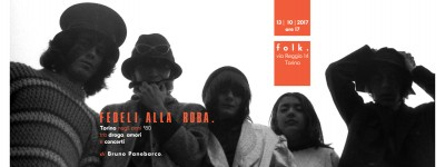 Folk - Torino: il 13 ottobre 2017 inaugura Fedeli Alla Roba - fotografie di Bruno Panebarco