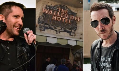 Trent Reznor, Massive Attack, ed altri per la colonna sonora del Walled Off Hotel di Banksy