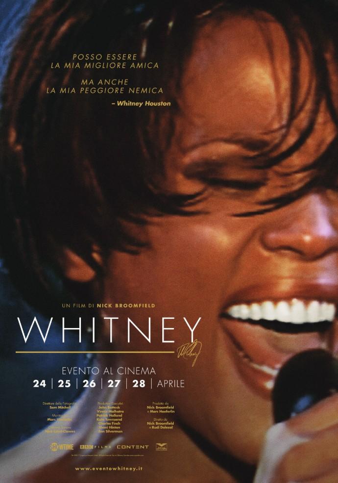 Whitney, il 24, 26 e 27 nei cinema UCI il documentario sulla vita della cantante americana - Il trailer del film.