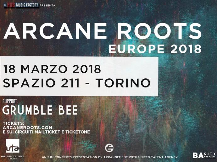 Arcane Roots: manca sempre meno all'unica data italiana a Torino!
