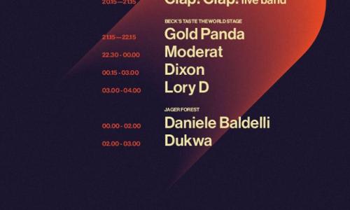 Astro - Timetable dell'evento elettronico dell'anno a Milano il 24 giugno: Moderat, Dixon, Gold Panda, Clap!clap!, Daniele Baldelli, e altri