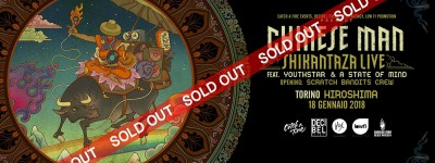 Chinese Man live in Torino all' Hiroshima Mon Amour: Sold Out!