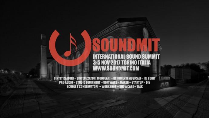 Soundmit 2017, International Sound Summit:3-4-5 Novembre 2017, Torino