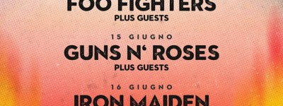 Firenze Rocks: dal 14 al 17 giugno 2018 a Firenze Foo Fighters, Guns N' Roses, Iron Maiden e Ozzy Osbourne.