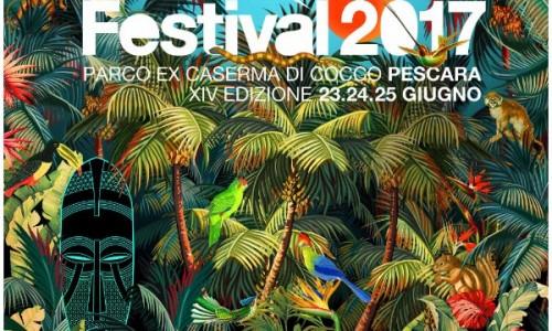 IndieRocket Festival 2017 - Pescara - XIV edizione il 23-24-25 Giugno al Parco Di Cocco
