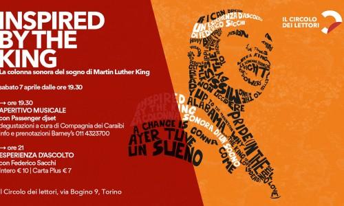 nspired By the King - La colonna sonora di un sogno (sab 07 aprile al Circolo dei Lettori, Torino)