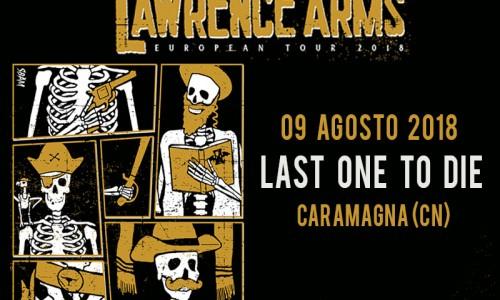 The Lawrence Arms: una data estiva in Italia