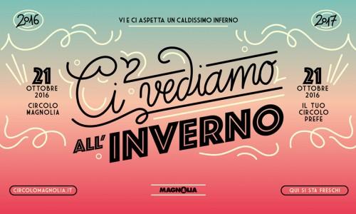 Circolo Magnolia, Milano: il programma di una nuova grande stagione - Apertura invernale 21 ottobre con Booka Shade