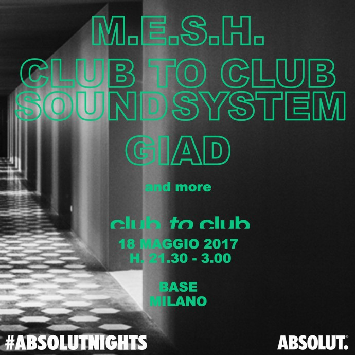 Domani Club To Club presenta #Absolutnights Milano - ingresso gratuito