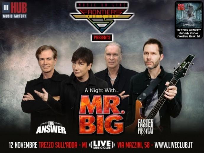 Mr. Big: il prossimo novembre un'unica data italiana!