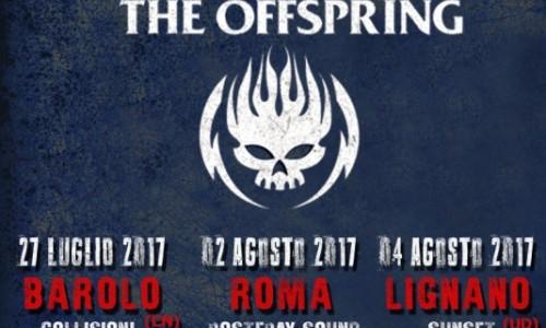 The Offspring: questa sera la prima data del tour italiano a Collisioni Festival di Barolo (Cn)