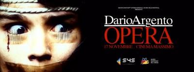 Seeyousound festival, Torino: il 17 novembre arriva Opera di Dario Argento al Cinema Massimo