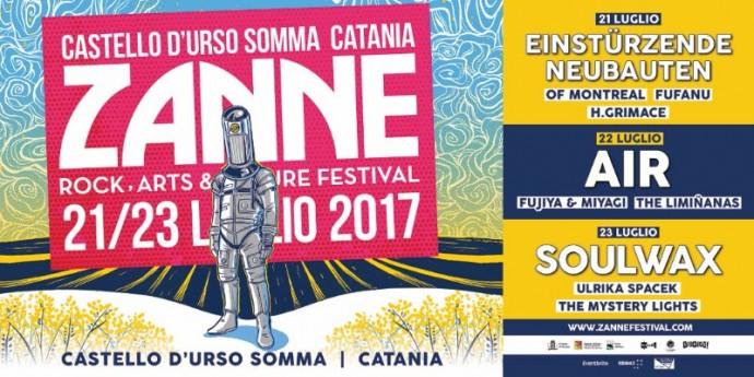 Zanne: Cambio location per il festival catanese