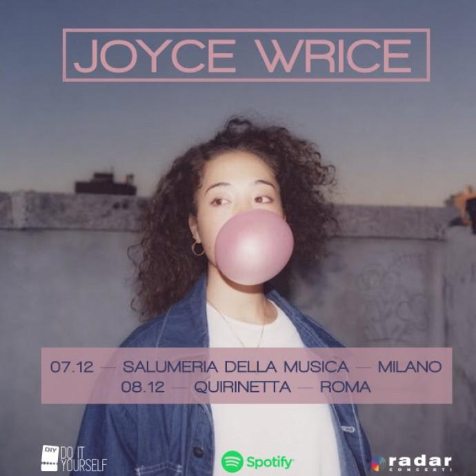 Joyce Wrice: due date italiane a Milano e Roma - Video del suo ultimo singolo, Good Morning